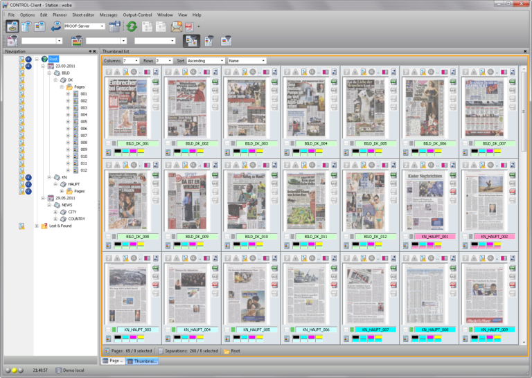 Softproof Thumbnail Browser