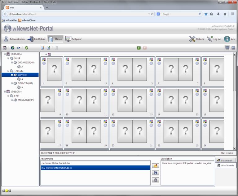 Thumbnail Browser im Portal